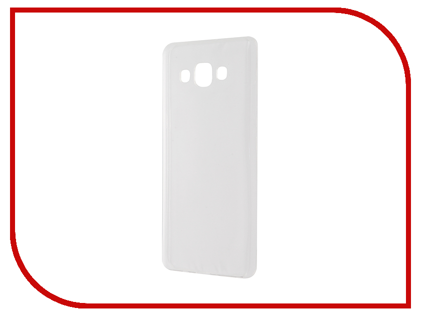 Аксессуар Чехол Samsung Galaxy A5 SM-A500F Krutoff Transparent 11513 аксессуар чехол samsung sm a500f galaxy a5 good egg кожа black