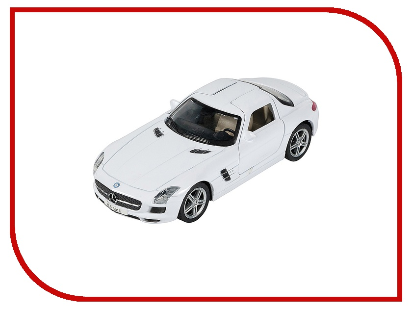 Игрушка PitStop Mercedes-Benz SLS AMG White PS-0616307-W<br>