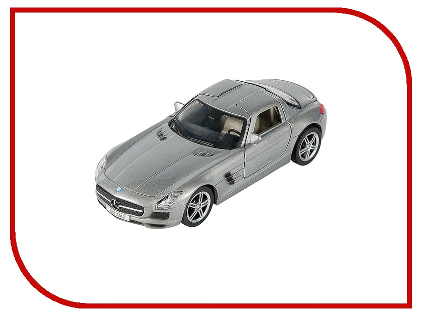 Машина PitStop Mercedes-Benz SLS AMG Silver PS-0616307-S mercedes а 160 с пробегом