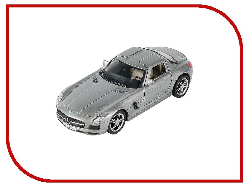 Машина PitStop Mercedes-Benz SLS AMG Silver PS-0616307-S дутики колеса
