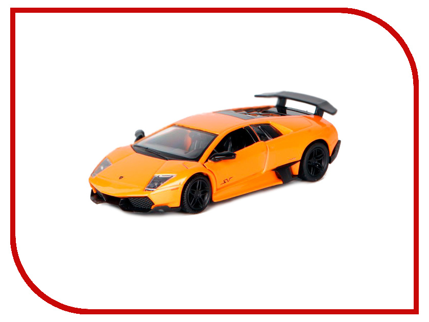 Машина PitStop Lamborghini Murcielago LP670-4 Orange PS-554997-O модель автомобиля lamborghini murcielago lp670 4 масштаб 1 43 39500
