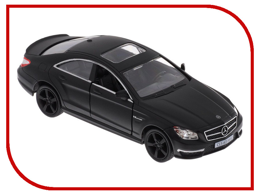 Игрушка PitStop Mercedes-Benz CLS 63 AMG C218 Black PS-554995-BL<br>