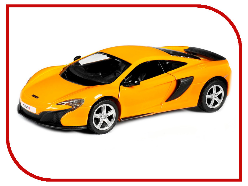 Машина PitStop McLaren 650S Orange PS-554992-O машина pitstop bmw x6 red ps 444002 r