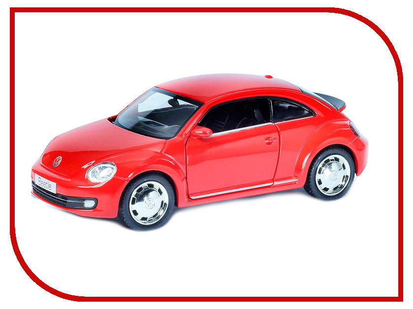 Машина PitStop Volkswagen New Beetle 2012 Red PS-554023-R машина pitstop audi r8 v10 red ps 344996s r
