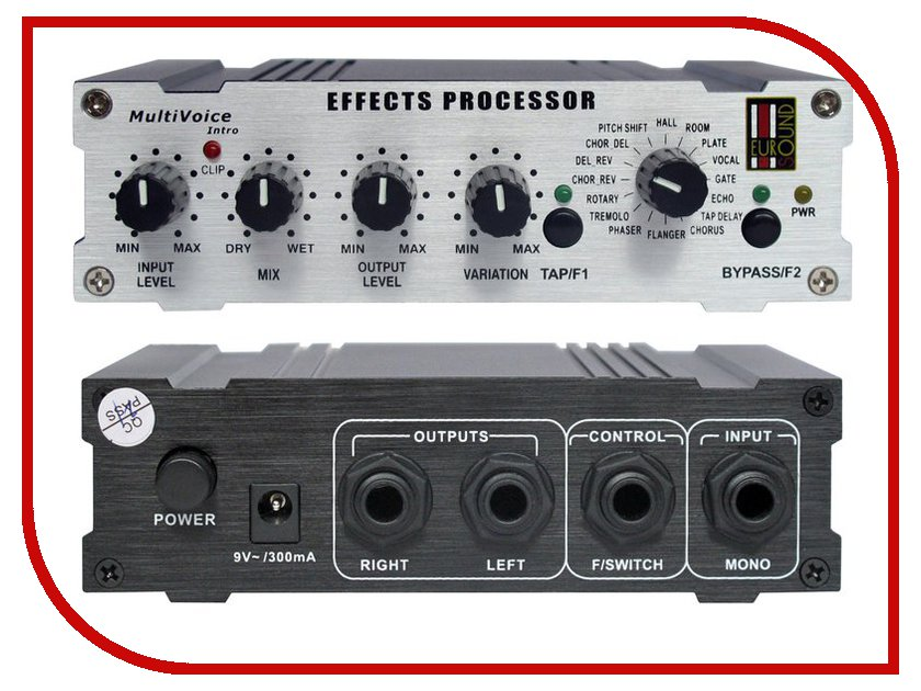 Вокальный процессор Eurosound Multivoice Intro вокальный вечер