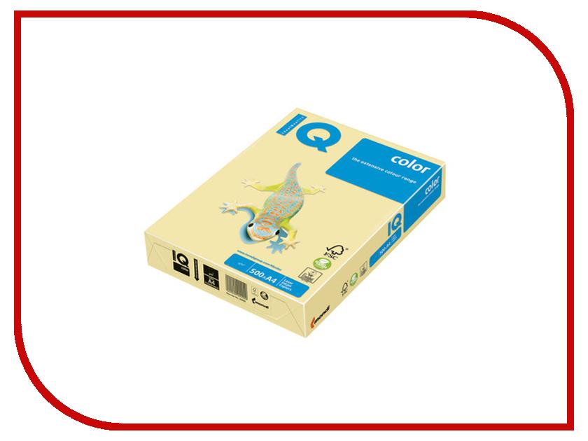 Бумага IQ А4 80g/m2 500л Yellow YE23