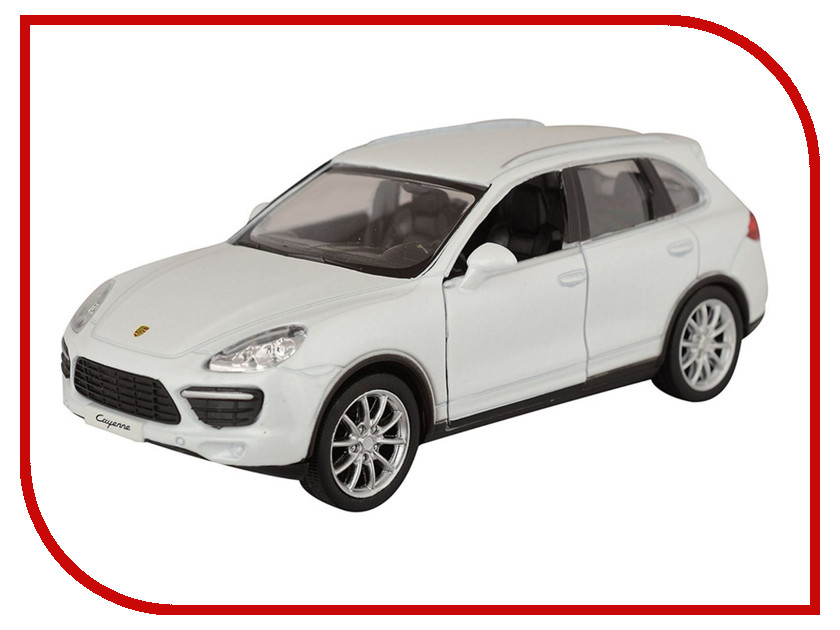 Игрушка PitStop Porsche Cayenne Turbo White PS-554014-W<br>
