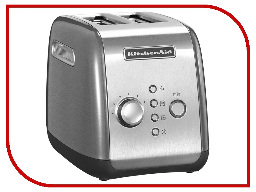 Тостер KitchenAid 5KMT221ECU Silver тостер kitchenaid 5kmt221ecu