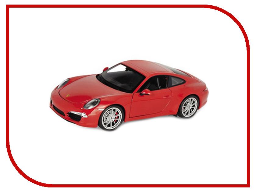 Машина PitStop Porsche 911 Carrera S Red PS-554010-R машина pitstop audi r8 v10 red ps 344996s r