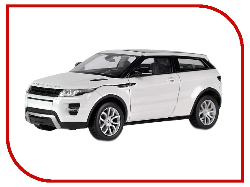 Машина PitStop Land Rover Range Rover Evoque White PS-554008-W for land rover range rover evoque inside
