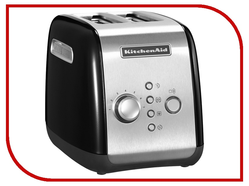 Тостер KitchenAid 5KMT221EOB Black<br>