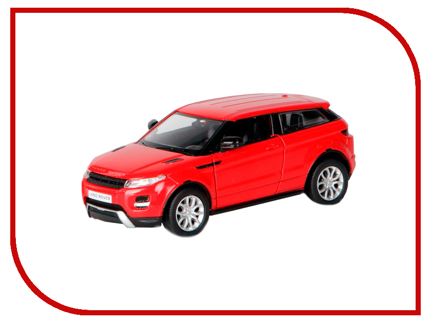 Машина PitStop Land Rover Range Rover Evoque Red PS-554008-R for land rover range rover evoque inside