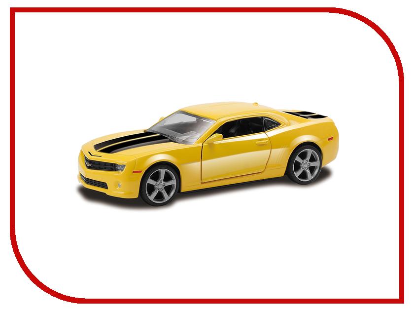 Машина PitStop Chevrolet Camaro Yellow PS-554005-Y машина pitstop bmw x6 red ps 444002 r