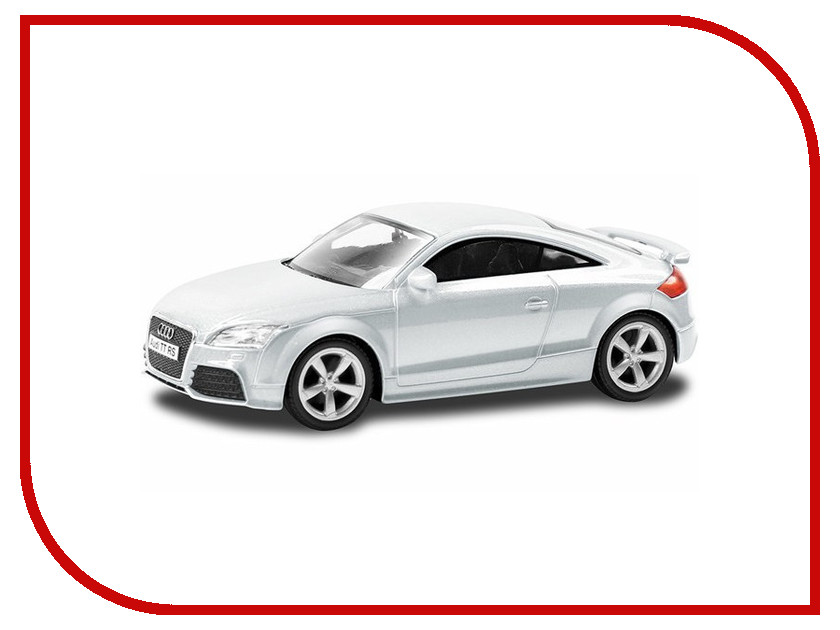 Машина PitStop Audi TT Coupe White PS-444004-W машина pitstop audi r8 v10 red ps 344996s r