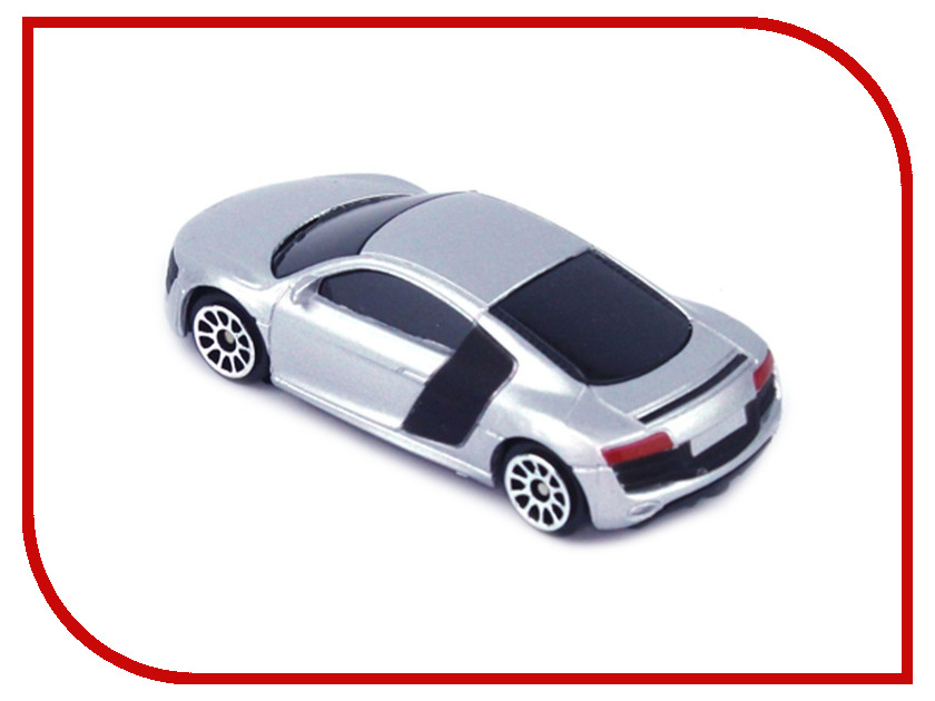 Машина PitStop Audi R8 V10 Grey PS-344996S-G машина pitstop audi r8 v10 red ps 344996s r