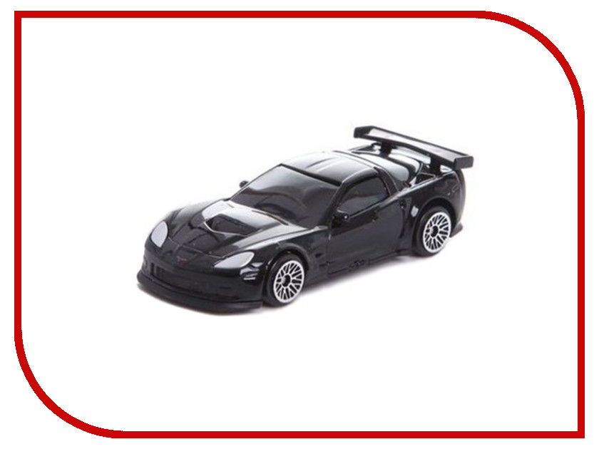 Игрушка PitStop Chevrolet Corvette C6-R Black PS-344005S-BL<br>