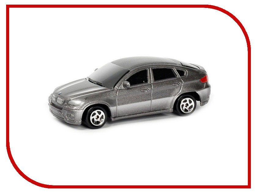 Игрушка PitStop BMW X6 Grey PS-344002S-G<br>