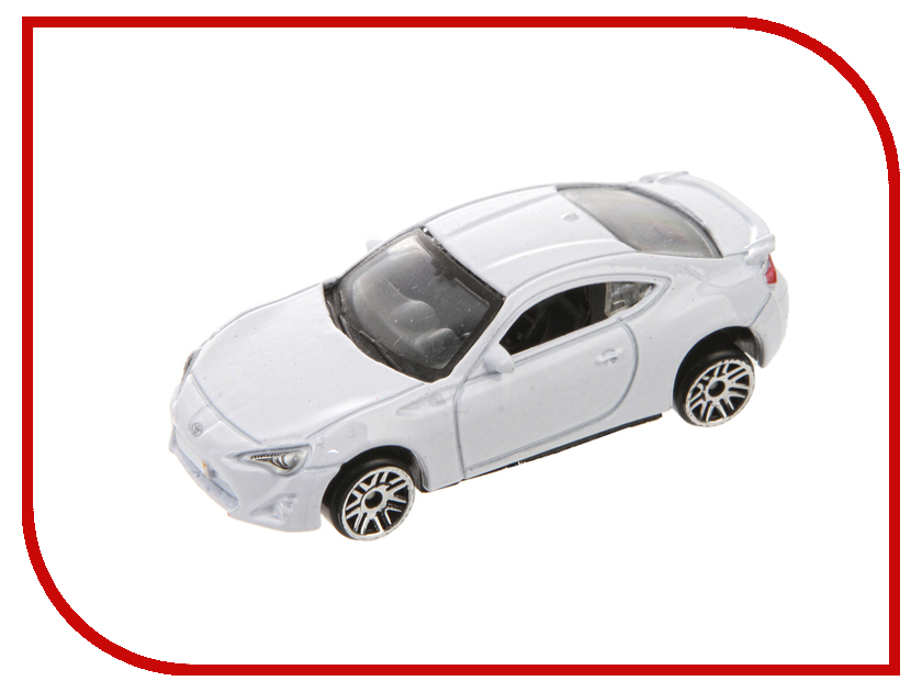 Машина PitStop Toyota GT-86 White PS-0616617-W