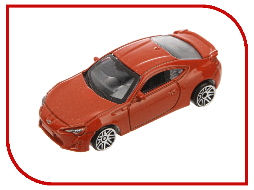 Игрушка PitStop Toyota GT-86 Orange PS-0616617-O<br>