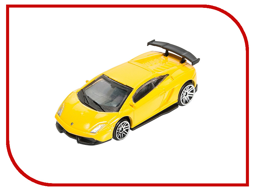 Игрушка PitStop Lamborghini LP570-4 Super Trofeo Stradale Yellow PS-0616615-Y<br>