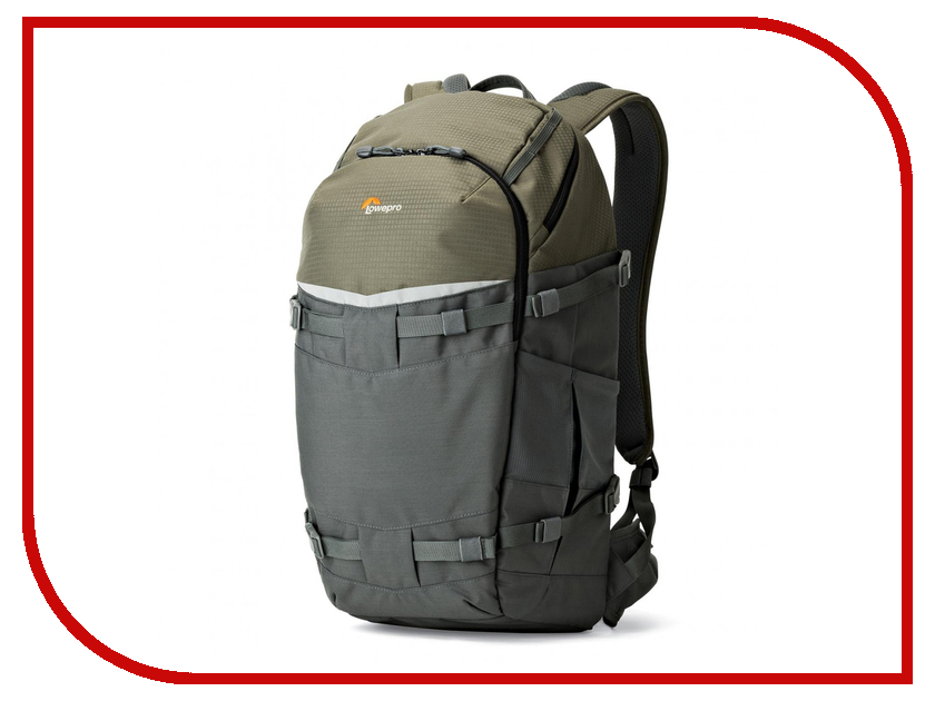 LowePro Flipside Trek BP 450 AW Grey-Dark Green 84450 lowepro flipside trek bp 350 aw grey dark green