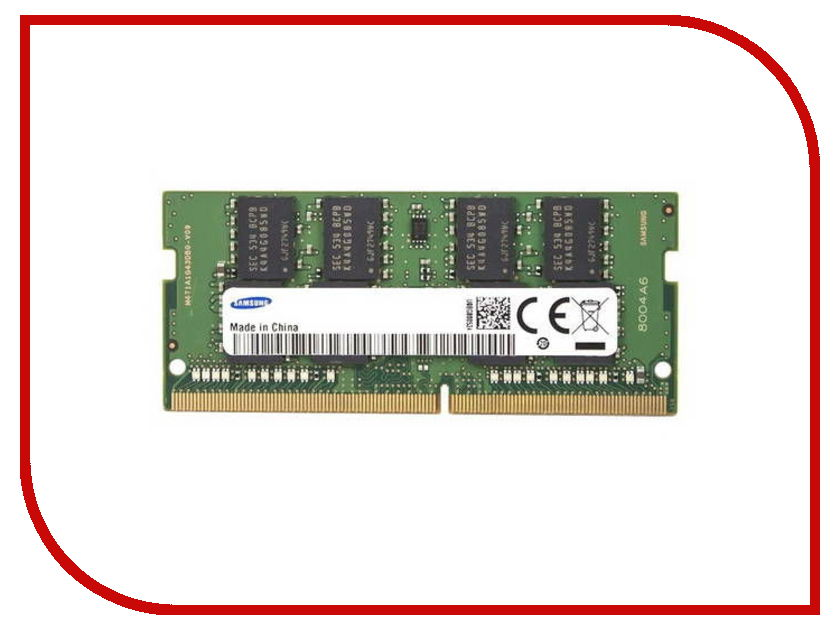 Модуль памяти Samsung DDR4 2133MHz SO-DIMM PC4-17000 CL15 - 8Gb M471A1G43EB1-CPB