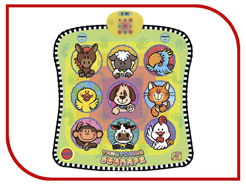 Танцевальный коврик Знаток Танцующий Зоопарк SLW9885 колье танцующий мишка