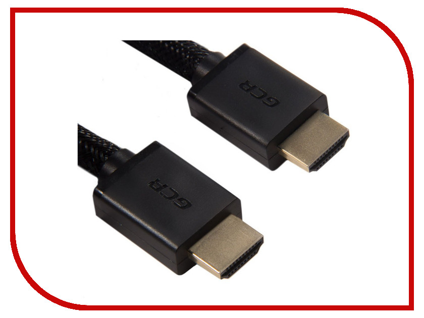 Аксессуар Greenconnect HDMI M/M v2.0 0.5m Black GCR-HM611-0.5m аксессуар greenconnect hdmi m m v1 4 0 3m black red gcr hm350 0 3m