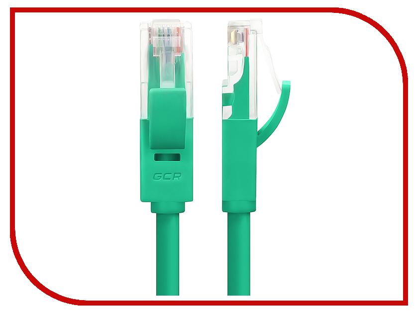 Аксессуар Greenconnect UTP 24AWG cat.5e RJ45 T568B 0.2m Green GCR-LNC05-0.2m<br>