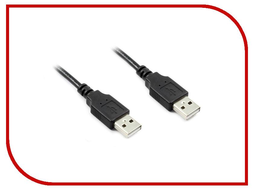Аксессуар Greenconnect USB 2.0 AM 1.8m Black GCR-UM2M-BB2S-1.8m<br>