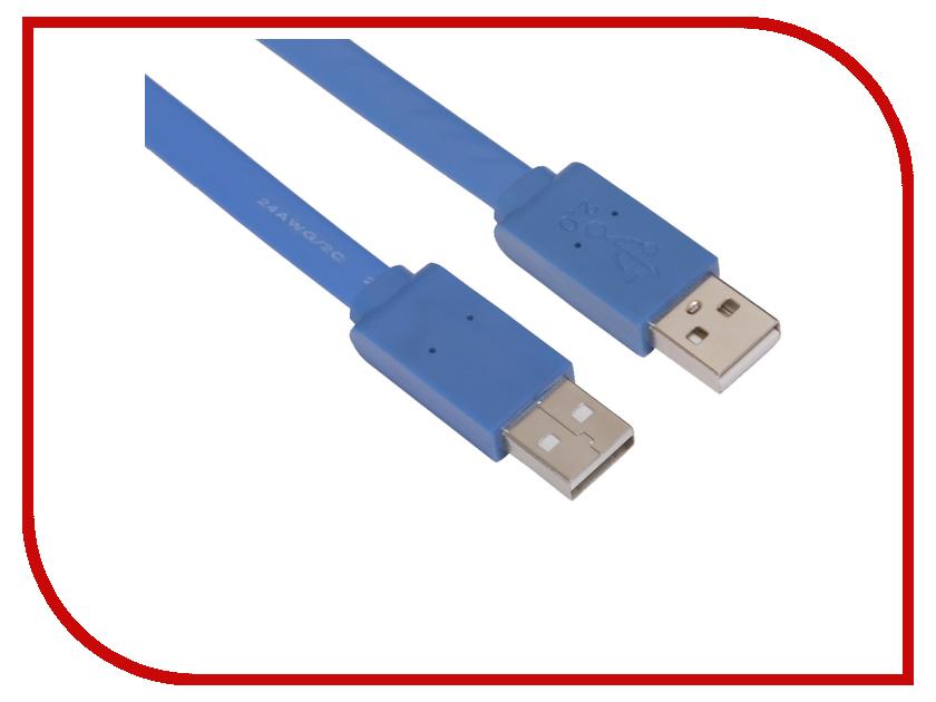 Аксессуар Greenconnect PRO USB 2.0 AM 3b Blue GCR-UM4MF-BD-3.0m<br>