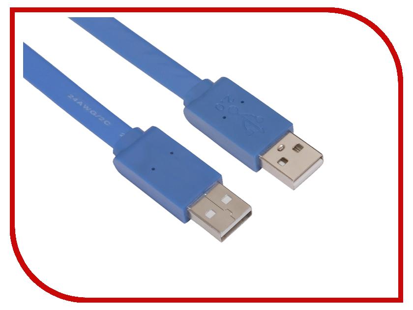 Аксессуар Greenconnect PRO USB 2.0 AM 5m Blue GCR-UM4MF-BD-5.0m<br>