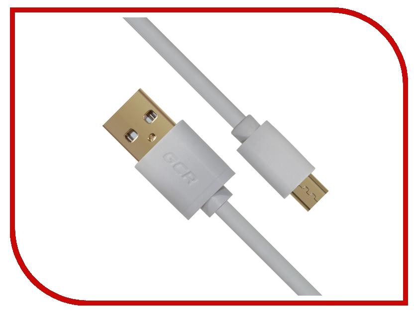 Аксессуар Greenconnect Micro USB 2.0 AM - Micro B 5pin 0.5m White GCR-UA10MCB3-AA2SG-0.5m аксессуар greenconnect micro usb 2 0 am micro b 5pin 3m black gcr ua8mcb6 bb2sg 3 0m