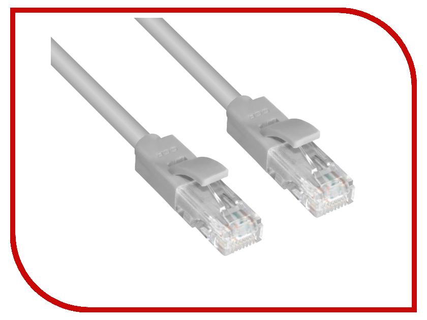 Сетевой кабель Greenconnect UTP 23AWG cat.6 RJ45 T568B 7.5m Grey GCR-LNC603-7.5m аксессуар greenconnect utp 23awg cat 6 rj45 t568b 1m black gcr lnc606 1 0m