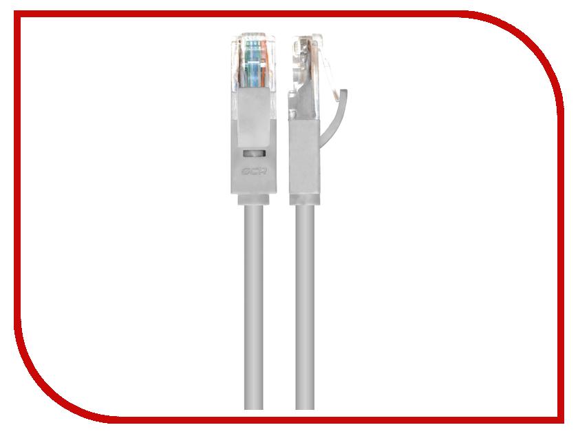 Аксессуар Greenconnect UTP 23AWG cat.6 RJ45 T568B 1.5m Grey GCR-LNC603-1.5m<br>