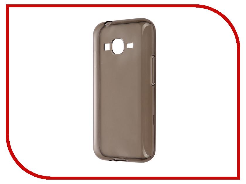 Аксессуар Чехол Samsung Galaxy J1 mini Prime J106F 2017 Gecko Transparent-Glossy Grey<br>