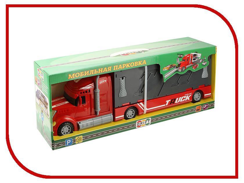 Игрушка Drift Автотрейлер с машинами 50816<br>