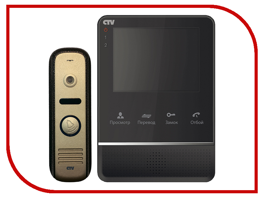 Комплект CTV DP2400MD Black-Gold