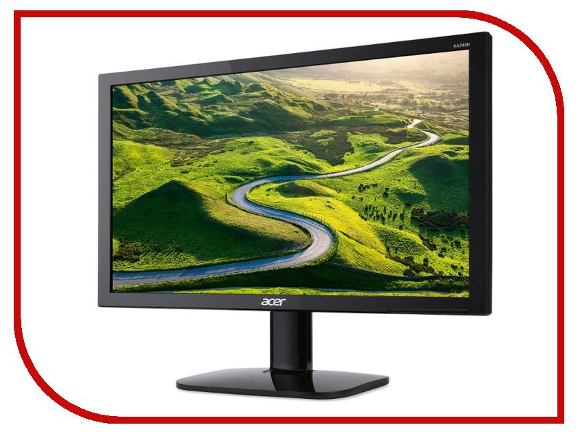 Монитор Acer KA240Hbid Black<br>