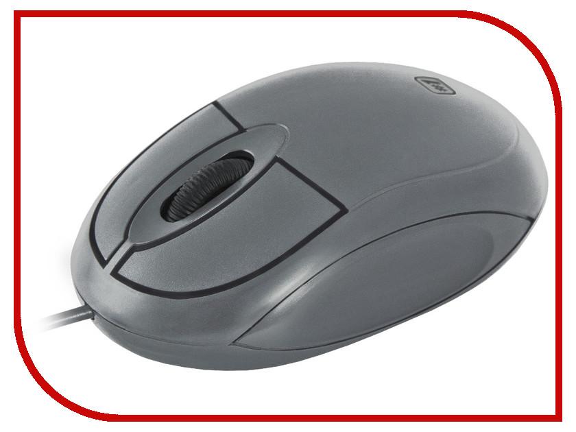 Мышь проводная Defender MS-900 Grey 52904