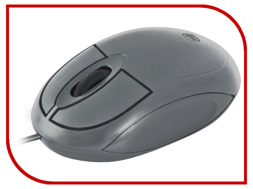 Мышь Defender MS-900 Grey 52904