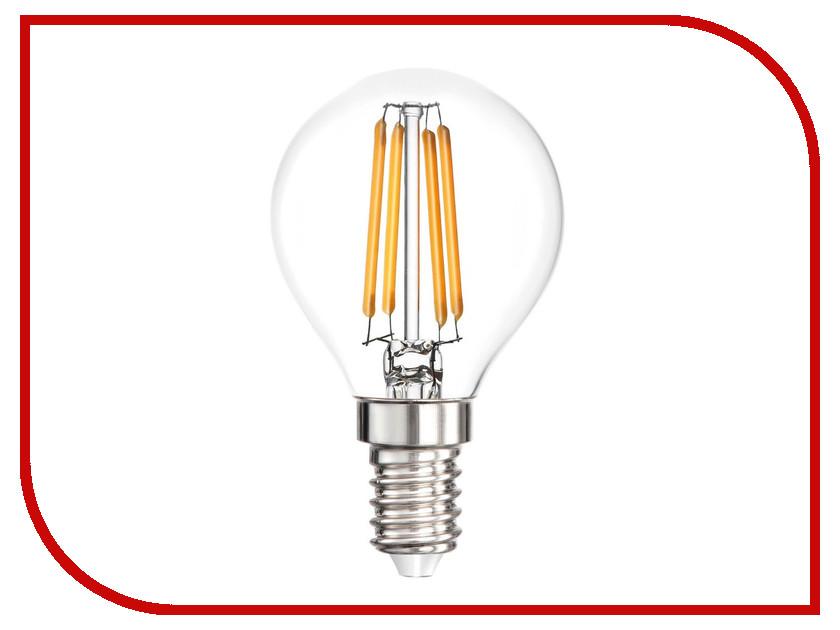 Лампочка Smartbuy P45 5W 3000K E14 SBL-P45F-5-30K-E14 лампочка elektrostandard свеча cd f e14 5w 3300k
