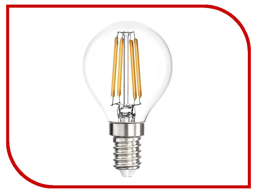 Лампочка Smartbuy P45 5W 4000K E14 SBL-P45F-5-40K-E14 лампочка elektrostandard свеча cd f e14 5w 3300k