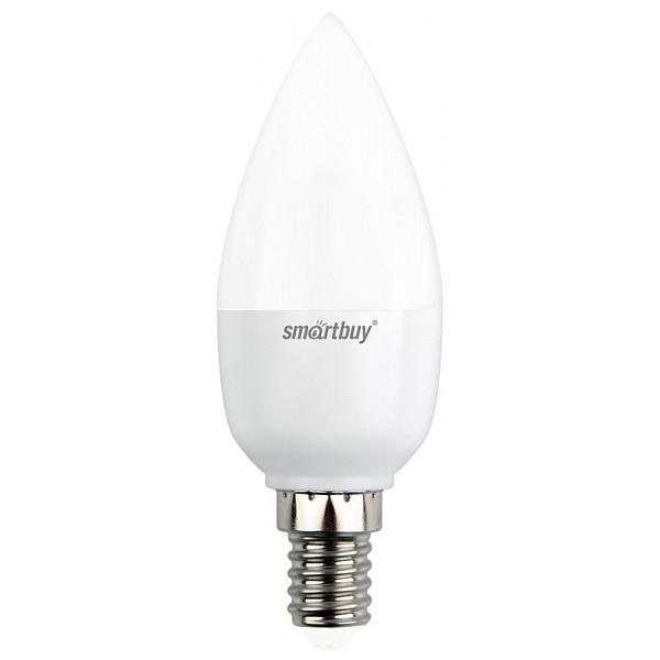 Лампочка Smartbuy E14 C37 7W 3000K SBL-C37D-07-30K-E14 smartbuy a60 15w 3000 e27 sbl a60 15 30k e27
