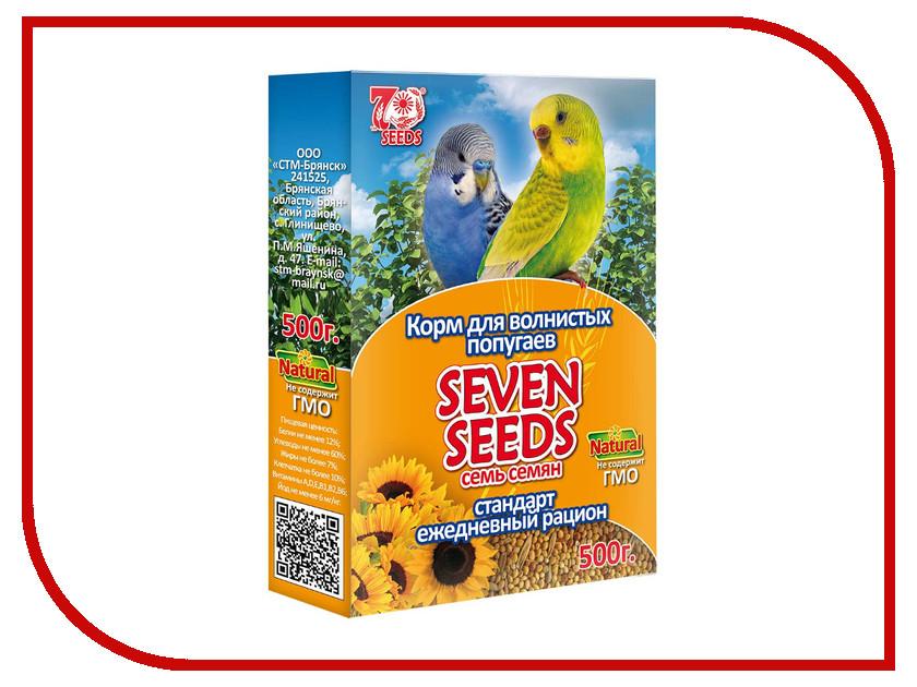 Seven Seeds Standart 500g для волнистых попугаев