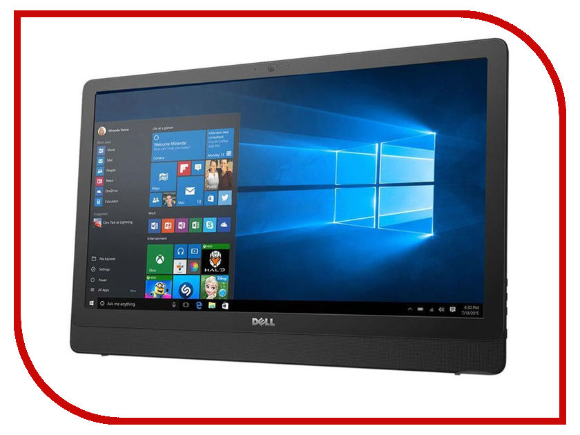 Моноблок Dell Inspiron 3264 3264-9906 (Intel Core i3-7100U 2.4 GHz/4096Mb/1000Gb/DVD-RW/Intel HD Graphics/21.5/1920x1080/Windows 10 64-bit) dell inspiron 3558