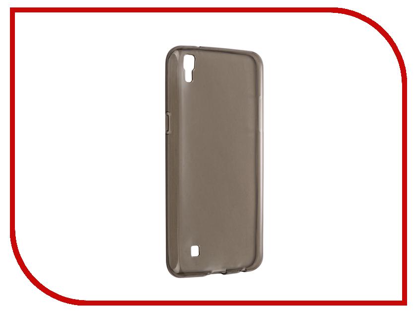 Аксессуар Чехол для LG X Power Svekla Grey SV-LGXP-BL аккумулятор acmepower ap vbd 98 для panasonic ag 3da1 ag ac8 ag dvc30 ag hpx171 ag hpx250 ag hpx255