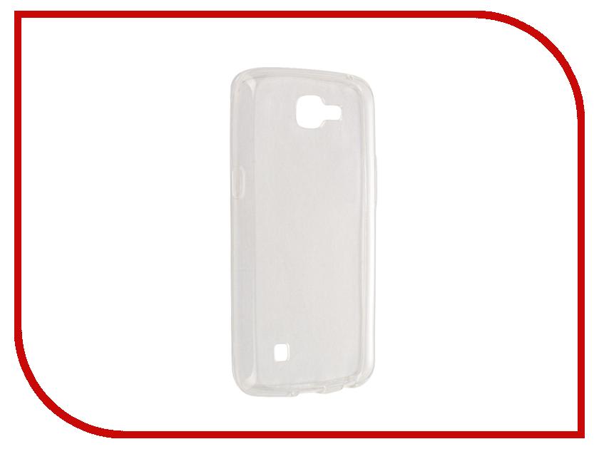 Аксессуар Чехол LG K4 Svekla Transparent SV-LGK4-WH<br>