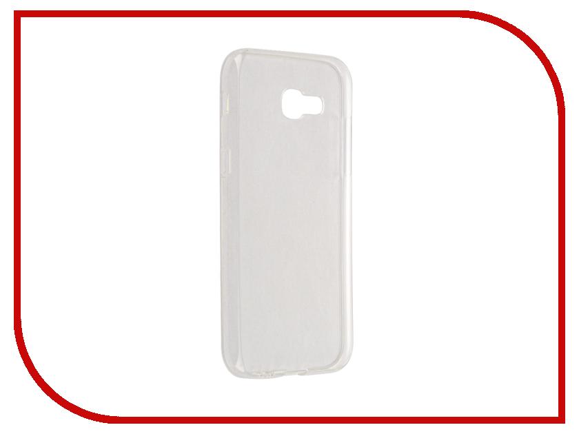 Аксессуар Чехол для Samsung Galaxy A5 2017 A520F Svekla Transparent SV-SGA520F-WH аксессуар чехол для samsung galaxy a5 2017 a520f svekla silicone black sv sga520f mbl