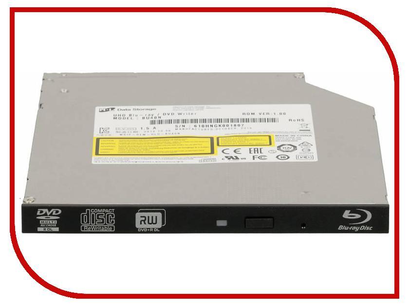 Привод LG BU40N Black OEM внешний dvd привод lg bp50nb40 black